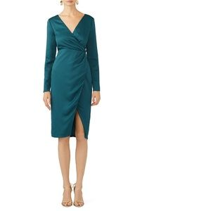 Stylestalker Small Sasha Midi Dress Long Sleeve